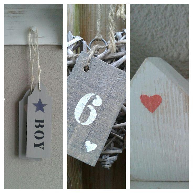 25 beste idee n over houten deurhangers op pinterest for Huisnummerbord maken