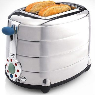 Target : Michael Graves Chrome Toaster: Common Kitchen Appliances Donu0027t  Need To Look Common. This Toaster From Michael Graves Design™ Combines  Retro Styling ...