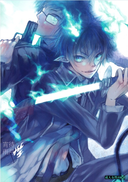 Yukio and Rin from Blue Exorcist.