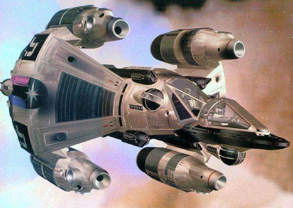 ruimteschepen gunstar