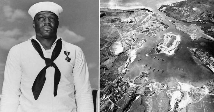 First African American to Earn The Navy Cross Was a Cook Firing .50-Caliber Machine Guns at Japanese Bombers At Pearl Harbor