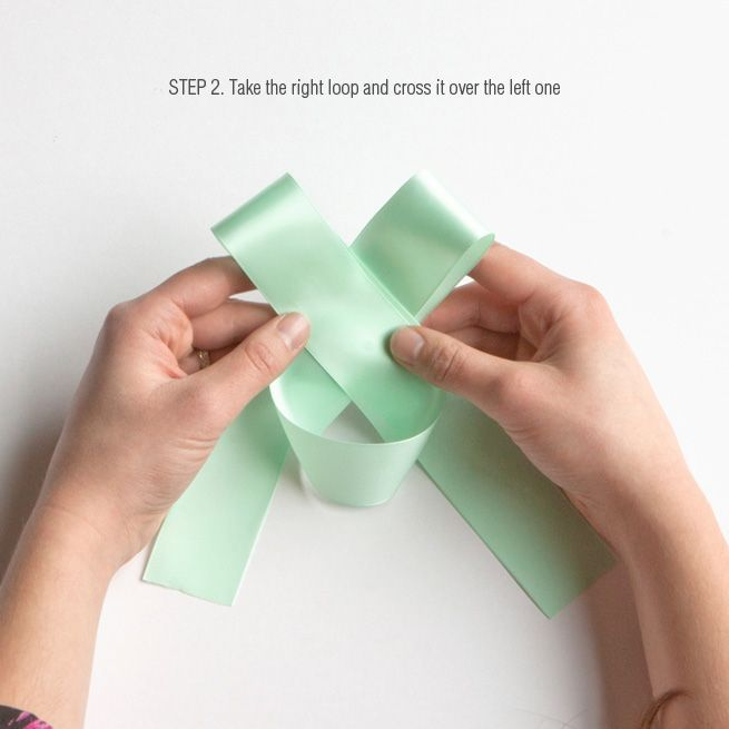 DIY Tips: How To Tie A Perfect Bow. Heck yes! Works awesome!
