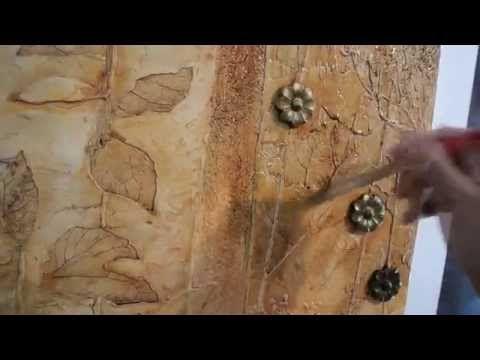 Чем покрывать барельеф на стене? - YouTube