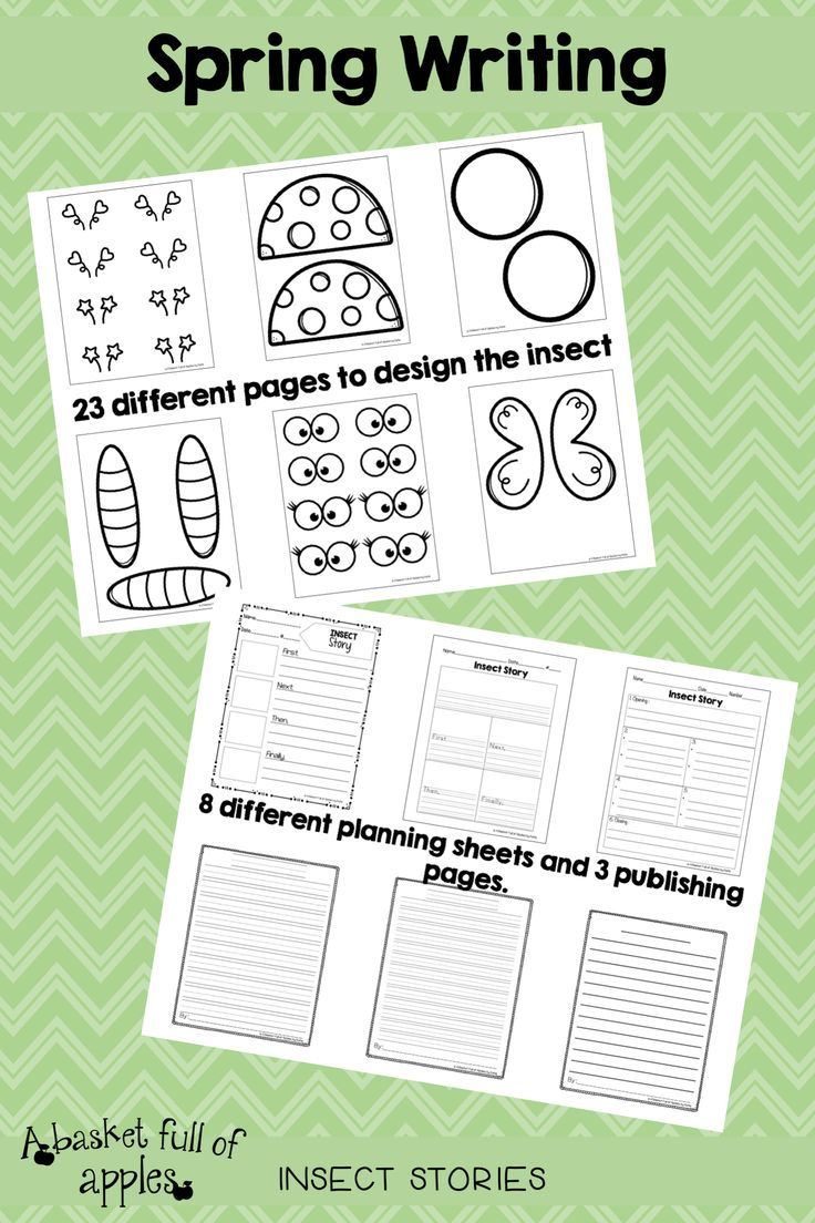 Spring Writing Insect Stories Elementary Writing Spring Writing Insect Stories Easter stories using writing process