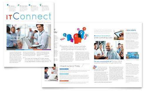 Stay connected with customers with professional newsletter designs