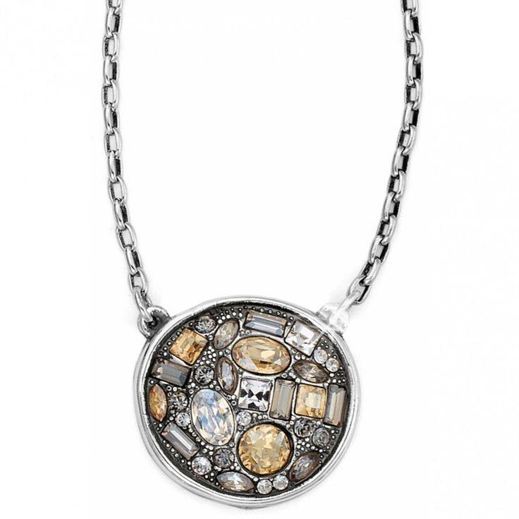 Brighton B You Round Necklace #brighton #jewelry #necklace