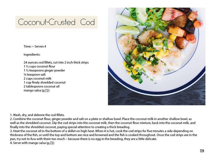 coconut-crusted cod ○ via autoimmune paleo