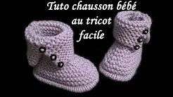 chaussons bébé - YouTube