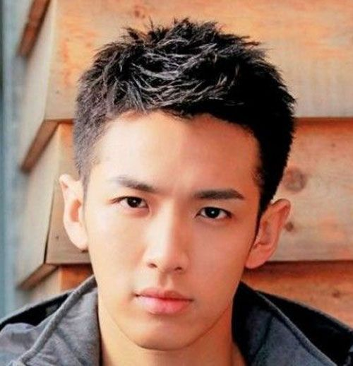 Asian Teen Haircut 115