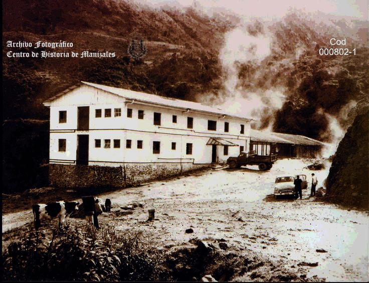 Edificio Principal Hotel Termales del Ruíz.