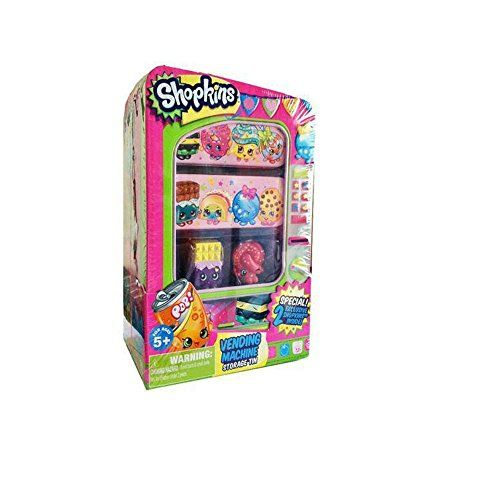 New Shopkins vending machine storage carry case holder gift for girls Season 1 -- You can find more details by visiting the image link.