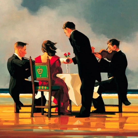 Elergy for the Dead Admiral, Jack Vettriano