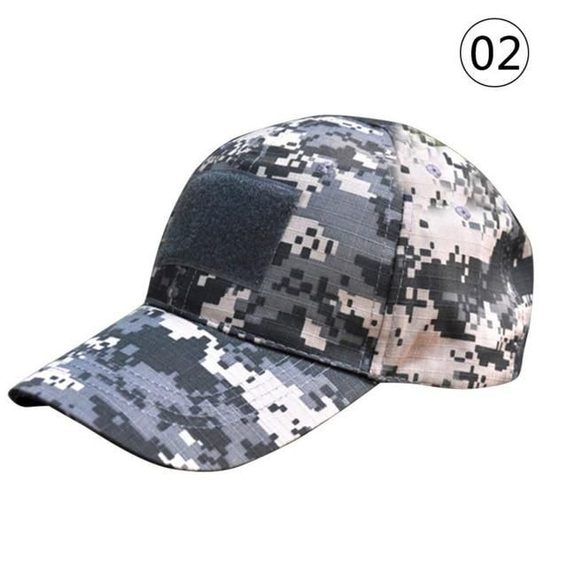 f90f8bbf59092 Camouflage Flag Patch Baseball Cap Hats Multi-pattern Outdoor Sporting Caps  Digital Camo Tactical Nylon