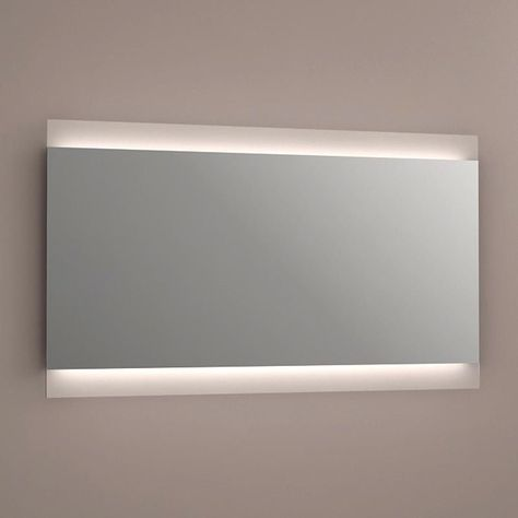 Miroir lumineux LED salle de bain, anti-buée, 120x70 cm, Idlight Parallel