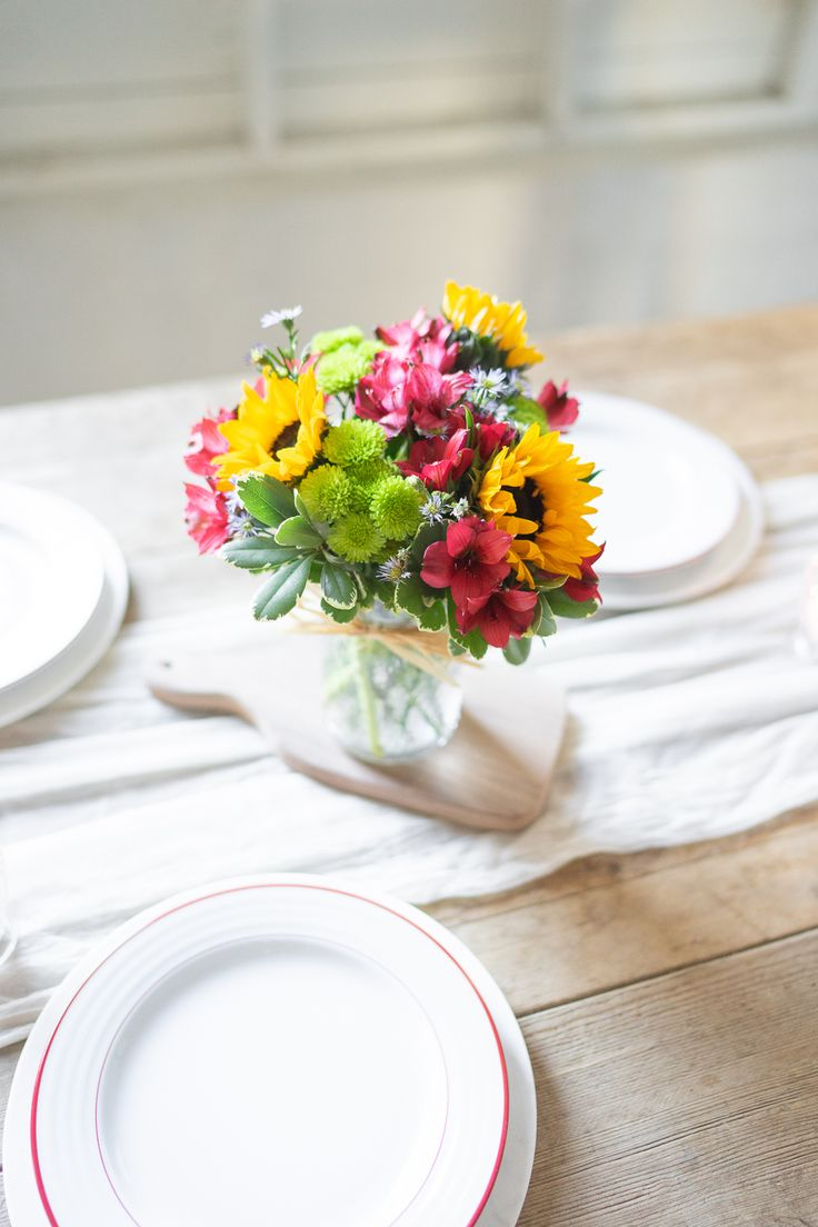 Flower fields mason jar at from you flowers flowers for
