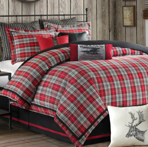 Best 25+ Plaid Bedding Ideas On Pinterest