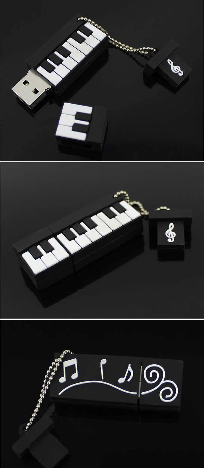 Piano Shaped Usb Flash Drive