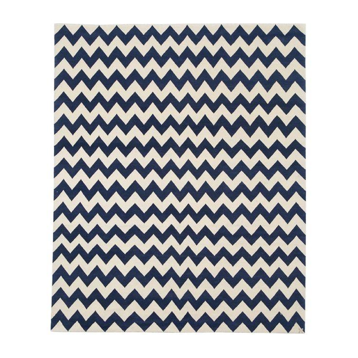 Best Blue White Zig Zag Tibetan Carpet With Images Carpet 400 x 300