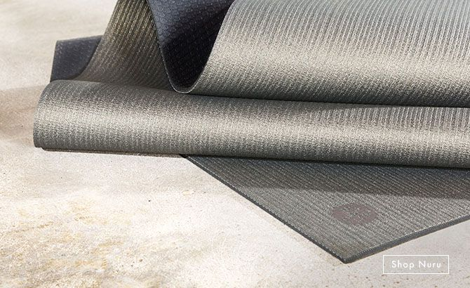 Manduka Nuru Opalescent Grey Prolite Limited Edition