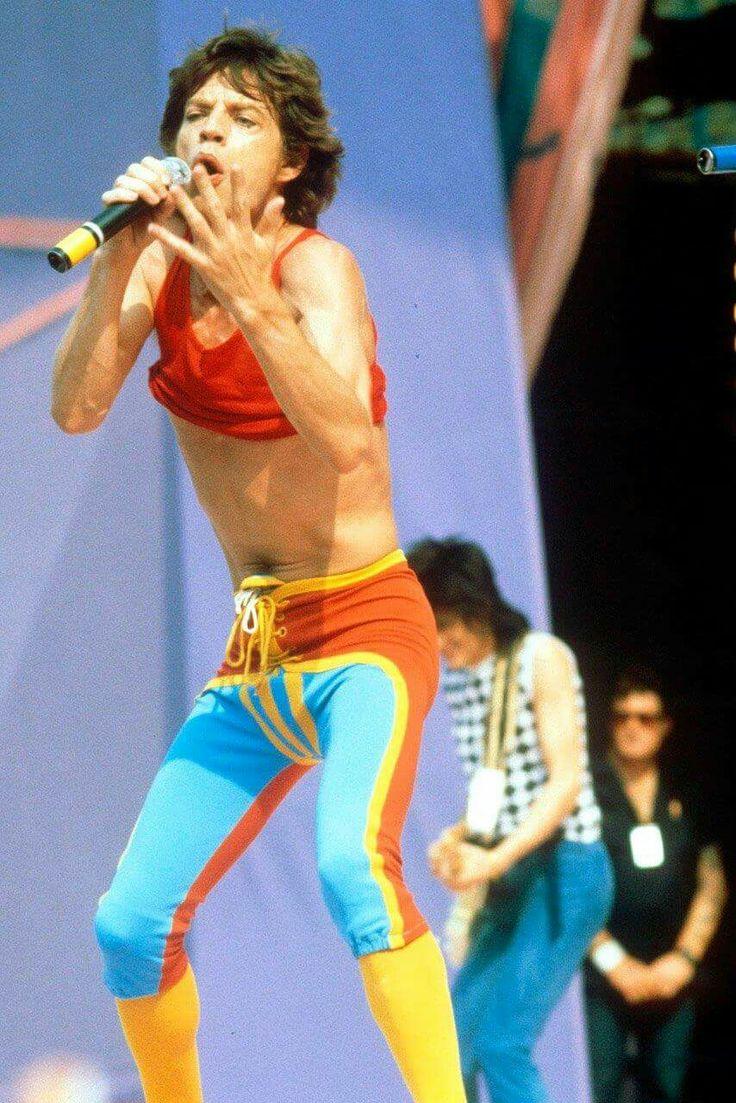 Mick Jagger u.s. tour 1981