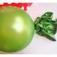 10'lu Metalik Yeşil Balon