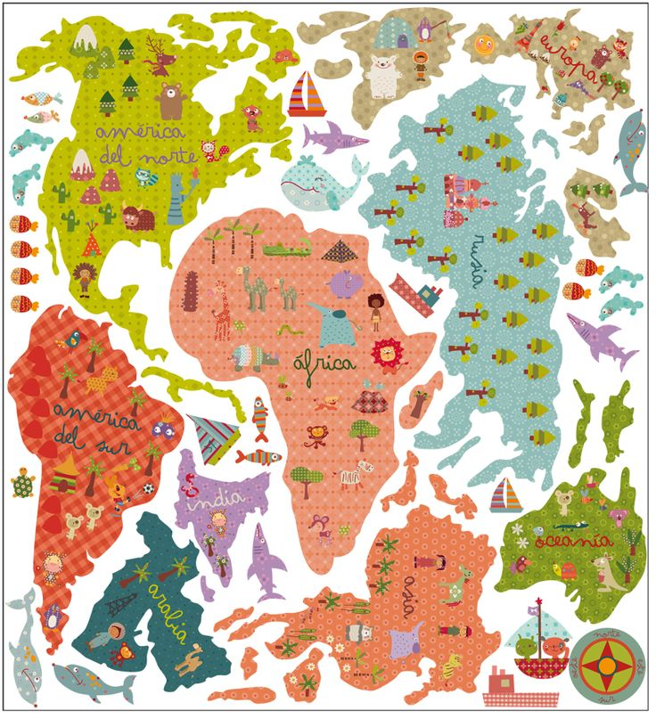 Mapamundi 100 mapas del mundo para imprimir y descargar for Mapa del mundo decoracion