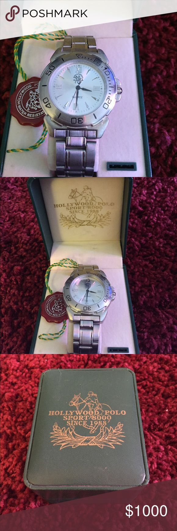 ⌚️BEST OFFER⌚️ Hollywood polo watch *needs batteries * Polo by Ralph Lauren Accessories Watches