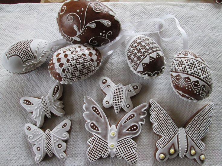 vajíčka a motýli