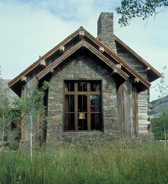Sawtooth Mountain Ranch :: tour: Tiny Cabin, Miller Architects, Tiny House, Architects Small, Front Window, Architecture, Small Houses, Architects Tiny, Architects Portfolio