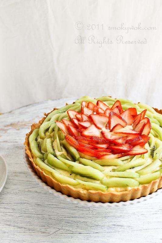mini fruit tart recipe what fruits are in season