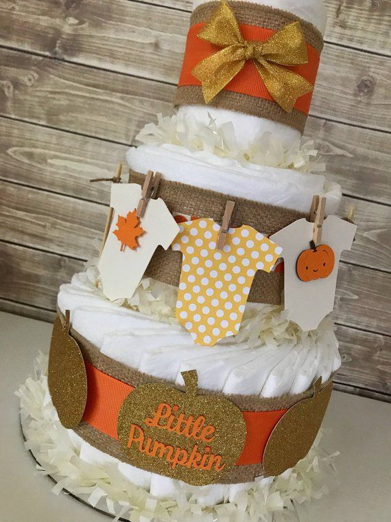 Herbst Baby Shower Herzstück, Herbst Baby Shower Windel Kuchen, Herbst Kürbis Baby Shower Dekorationen   – deko.hairp.site