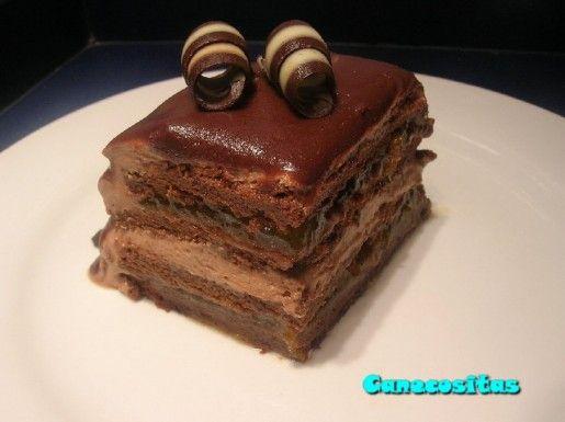 Tarta Sacher de Paco Torreblanca