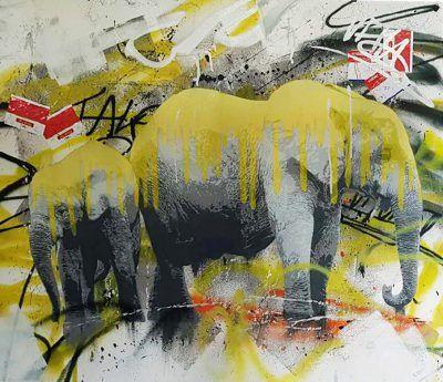 Elephants / Yellow