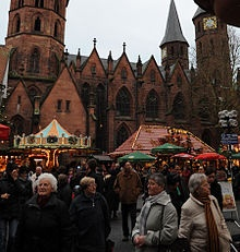 Kaiserslautern, Germany, Going to the open market and getting fresh food. I love doing this on Saturdays.