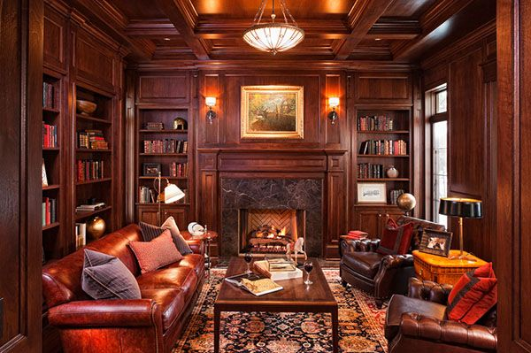 Home Library Decorating Ideas | Home Library Design Ideas-47-1 Kindesign