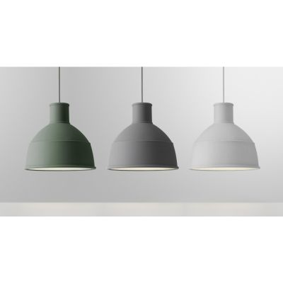 Muuto - Unfold Pendant Lamp Grey