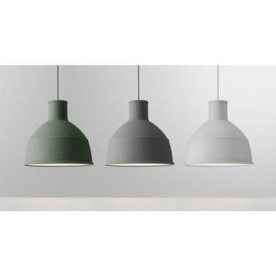 Muuto - Unfold Pendant Lamp Grey