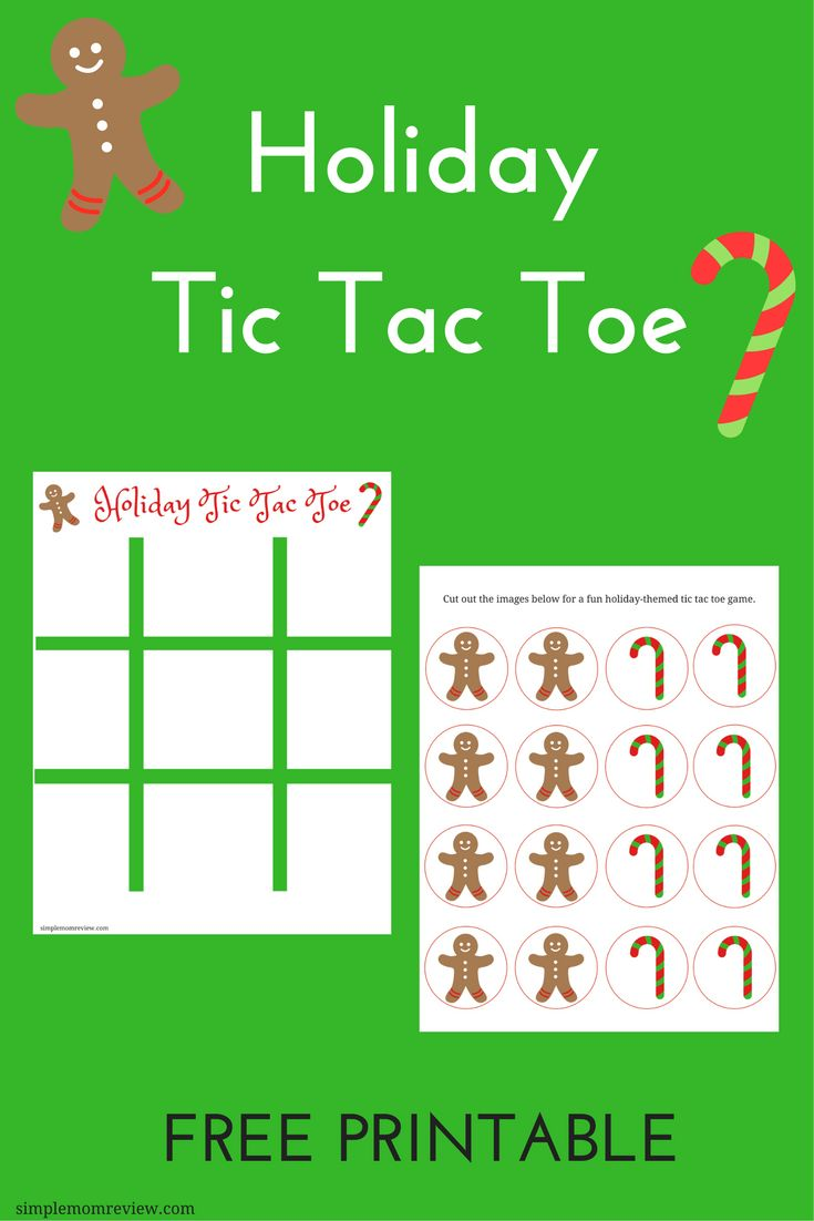 Print and cut out the gingerbread and candy cane images for a fun holiday tic tac  sc 1 st  Pinterest & 25+ unique Tic tac toe free ideas on Pinterest | Tic tac to Tic ... Aboutintivar.Com