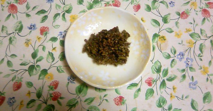 紫蘇の実の塩漬け by 古漬け [クックパッド] 簡単おいしいみんなのレシピが248万品
