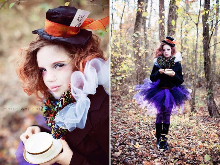 cute mad hatter costume | ... are some ways you can make your own mad hatter costume for a girl