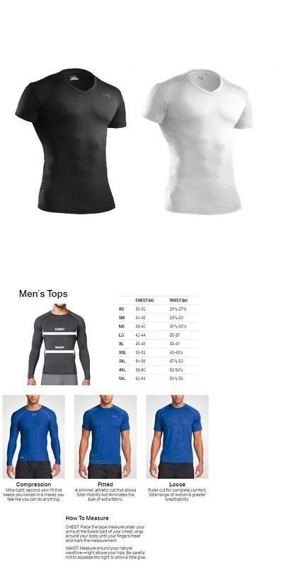 Shirts and Tops 177874  Under Armour 1216010 Men S Tactical Heatgear  Compression V-Neck 3a656ad61