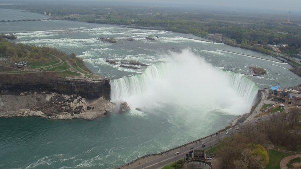 Niagara falla EEUU frontera Canadá