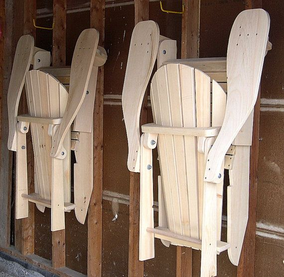 Folding Adirondack Chair Plans DWG files for by TheBarleyHarvest