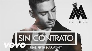 Maluma - Sin Contrato ft. Fifth Harmony - YouTube