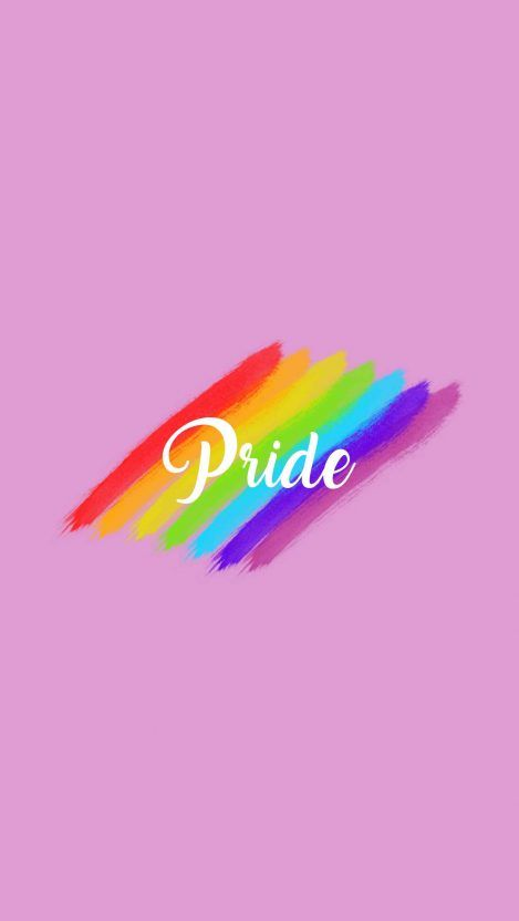 Pride iPhone Wallpaper Rainbow wallpaper iphone, Iphone