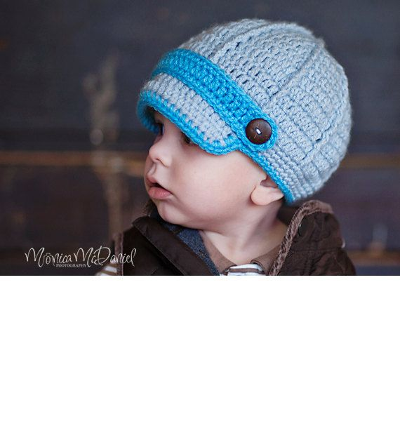 28b943be6cd Handmade crochet newsboy baby boy or baby by TwoLittleAngelsEtsy ...
