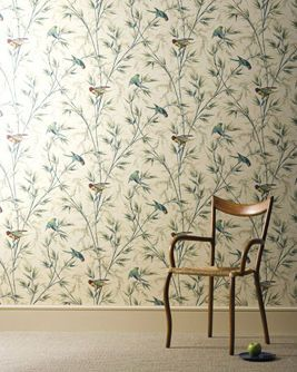 Papier peint : motif floral GREAT ORMOND STREET C.1890 The Little Greene
