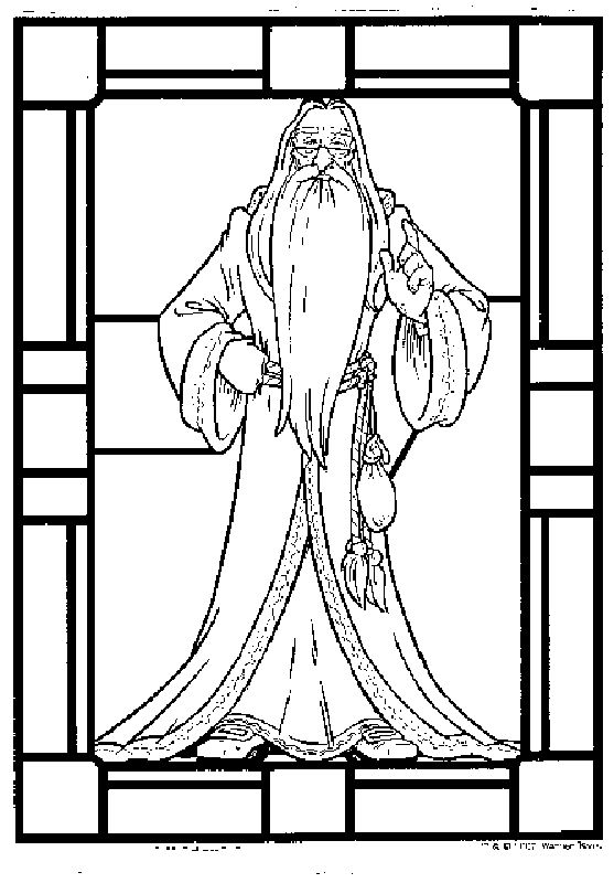 Albus dumbledore free printable coloring pages harry potter