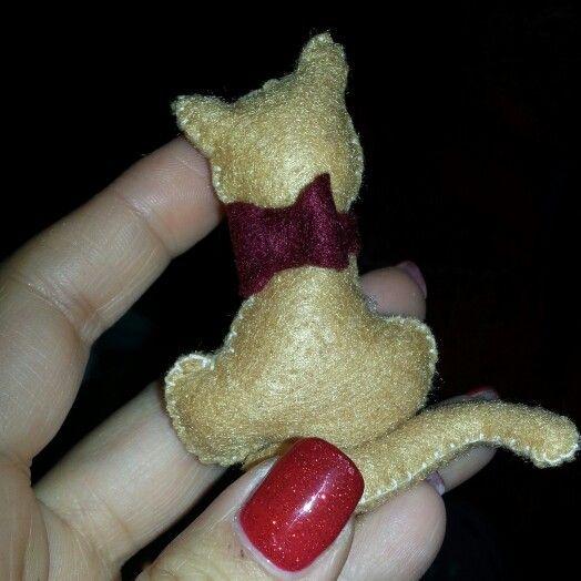 #Gattino #feltro #pannolenci #cucitocreativo