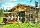 La Boutique de Forge  dans les Sentiers de la nature au Zoo de St-Félicien